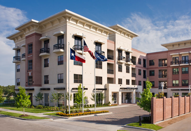 Camden travis street camden builders inc projects for Multi family homes for sale houston